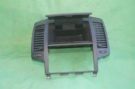 05-06 Nissan Altima Radio Dash Bezel w/ Heater AC Vents Glove Box Storage BLACK image 6