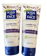 Lot Of 2 Kiss My Face  Deep Moisturizing Lotion  Lavender Shea 6 Fl Oz New - $20.78