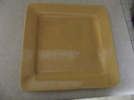 Home Amber Yellow dinner plate 1 available - $6.29