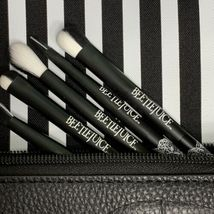 Melt X Beetlejuice Lydia Mirror, Brush Set & Bag ( pouch / Clutch) NWOB FROM PR image 9