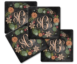Custom Personalized Round Or Square Sandstone Or Fabric & Rubber Coaster... - $13.50