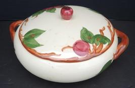 Vintage Franciscan Round Covered Vegetable - Apple Pattern - $37.99