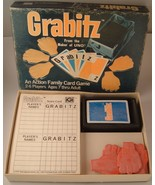 Vintage 1979 Grabitz Action Family Card Game Unused cards still in plastic - $19.77