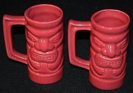 Tiki mug Hawaii Millennium Cup 2013 Mugs Cups 2 pcs MFC USA Ceramic - $19.35