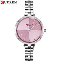 CURREN Women Watches Top Brand Luxury Stainless Steel Strap Watch Ladies Analog  - $34.60