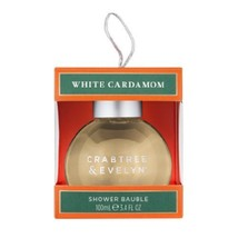 Crabtree & Evelyn Shower Bauble White Cardamom Body Wash (100mL) 3.4 Fl Oz - $10.00