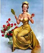 Miss Sylvania Pin Up Girl Elvgren Art Print - 8 in x 10 in - Matted to 1... - $4.99