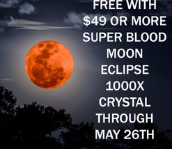 Free W/ $49 Order Align Crystal May 26TH Super Moon Blood Moon Eclipse - $0.00