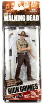 McFarlane Walking Dead Series 7 RICK GRIMES, Slightly bent card. Walgree... - $11.26