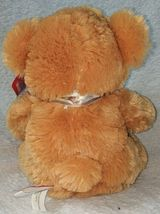 Woody Toys 76229S 10 Inch Burnt Orange Bear With A Paw Print Bow image 2