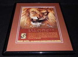 1998 U.S. Army ROTC 11x14 Framed ORIGINAL Vintage Advertisement - $32.36