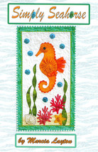 "Quilt Kit - 12"" x 22"" Simply Seahorse Ocean Wall Hanging Quilt Kit M412.05 - $35.97"