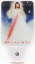 Devotional LED Night Light: Divine Mercy