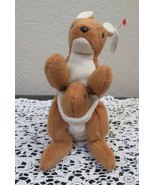Ty Beanie Baby Pouch the Kangaroo 4th Generation Hang Tag 3rd Generation... - $29.69