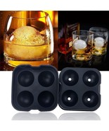 3 Pack Whiskey Silicon Ice Cube Ball Maker Mold Sphere Mould Brick Party... - $18.80