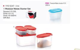 Tupperware Modular Mates Starter Set - Chili (S... - $49.99