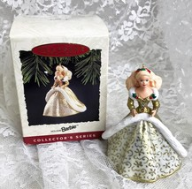 1994 Hallmark Holiday Barbie Ornament  Second in Series Vintage - $11.40