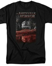 The Amityville Horror House Lutz Family Retro 70s 80s Paranormal T-shirt MGM325 image 2