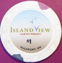 $1 Casino Chip. Island View, Gulfport, MS. T43. - $4.29