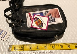 Cell phone /wallet/ with shoulder strap black - $7.11