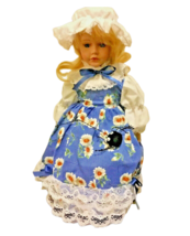 Brinn's Porcelain Doll Little Miss Muffet Authentic Collectible Nursery ... - $53.46