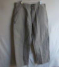 CARHARTT - Men's Khaki Beige Carpenter - Dungaree Fit Pants - SIZE 36x30 - $26.99