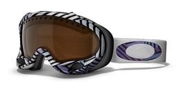 Rare Oakley A-Frame Snow Goggle Shaun White Signature Ser W/Black Iridium 01-800 - $196.00