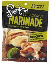 Frontera Marinade, Three Citrus Garlic 6 oz ea, powder, case of 6, Mexican - $23.99