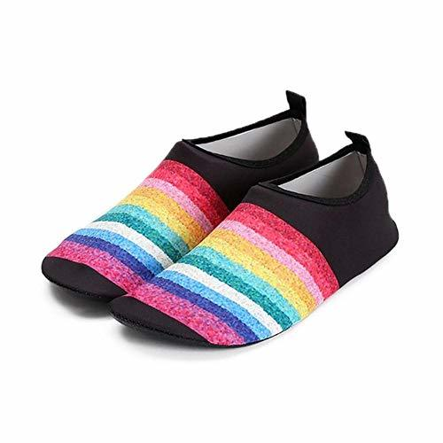 Primary image for e-dreamstore Lightweight Water Shoes Printed Anti-Slip Quick Drying Slip on Sock