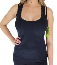 NEW W SPORT WOMEN'S ATHLETIC WORK OUT GYM SPORT TOP SHIRT TANK TOP BLACK AP-4809