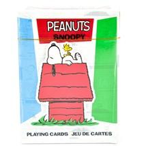 Aquarius Peanuts Comic Panel Snoopy Beagle Dog Theme Playing Card Deck image 1