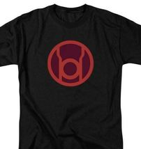 DC Comics Green Lantern red symbol retro comics graphic black t-shirt GL268 image 3