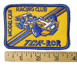 1990s Ideal TCR Racing Team Member SEW ON PATCH Rare Factory Give Away Promo A+ - $28.70