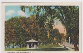 South Side Park, Binghamton NY Postcard - $8.95