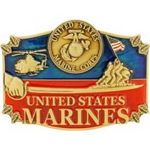 United States American USMC Action Belt Buckle - $18.76