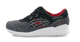 Asics Men's GEL-LYTE III Shoes NEW AUTHENTIC Black/Red H6X2L-9090 - $65.99