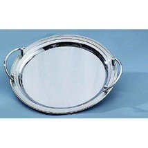 Stainless Steel Round Tray with Handles - £46.90 GBP