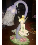 Disney Tinkerbell Tulip Flower Lamp Great Condition - $44.55