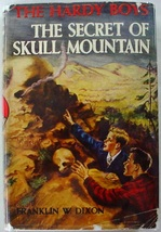 Hardy Boys The Secret of Skull Mountain #27 1956A-18 hcdj Franklin Dixon... - $14.00
