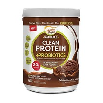 Healthy Delights Naturals, Whey Clean Protein & Probiotics, 20g Of Protein with