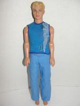 Ken Barbie in A Mermaid Tale Doll 2009 Mattel light Blonde molded Hair  - $4.99