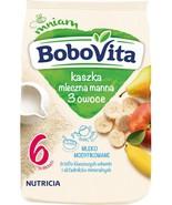 Nutricia Aptamil BoboVITA milk porridge: 3 FRUITS for babies from 6 mo F... - $12.72