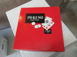 Po-Ke-No , Poker-Keno , 12 Board Set  , Vintage - $15.00