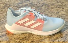 Adidas Women's Craztflight Size 8 Orange Baby Blue Tennis Shoes EF2676 #adidas - $68.19
