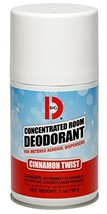 Big D 469 Concentrated Room Deodorant for Metered Aerosol Dispensers, Cinnamon T