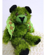 Handmade fluffyTeddy Bear - soft decorative toy - OOAK - birthday gift - $50.00