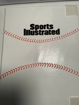 Vintage Sports Illustrated BASEBALL Notepad Portfolio Padfolio Papers - $11.29