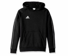 adidas Unisex Youth Soccer Core18 Hoody Extra Small 4-6 XL Black Hoodie ... - £19.69 GBP