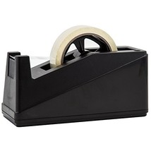 """Desktop Tape Dispenser Adhesive Roll Holder Fits 1"""" & 3"""" Core by Royal I... - $15.73"""