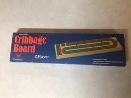 Cardinal Solid Wood Cribbage Board No.#62 USED - $14.52